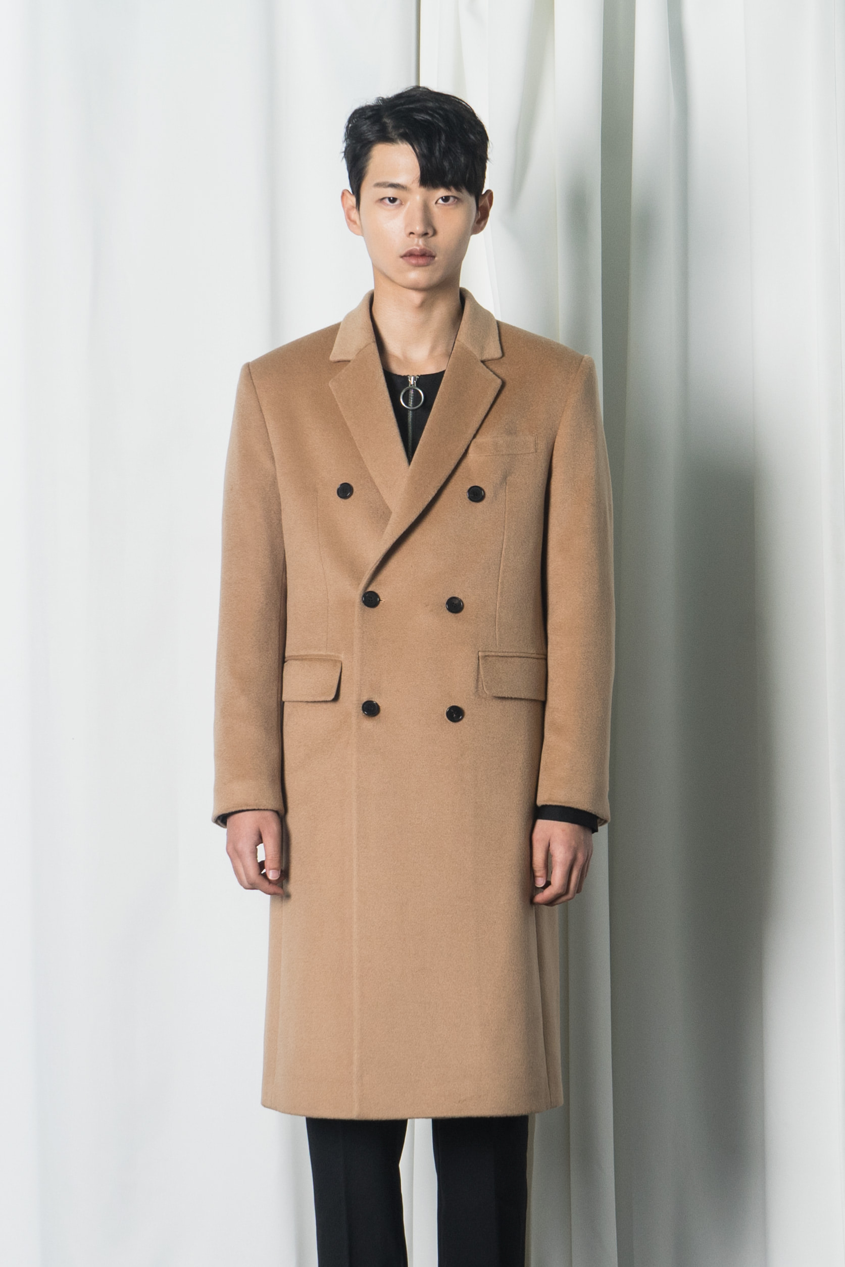 [season-off-membershipsale]camel double long coat